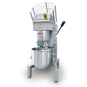 Stainless steal - Digital planetary mixer